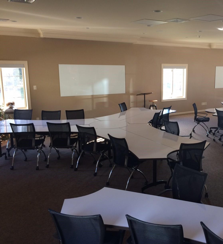 Ambassador Training Tables Collaborative set up 2